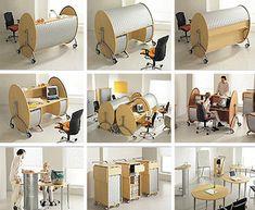 modern-rounded-wood-desk-design