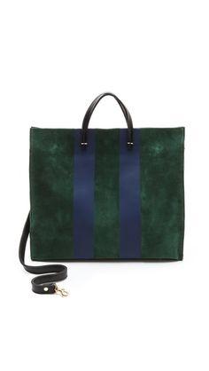 Clare Vivier Simple Tote- d Handbag Accessories, Fashion Accessories, Clare Vivier, Travel Bags For Women, Bago, Purses And Handbags, Tote Bag, Leather, Clutches