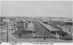 Chelsea Railway Station Melbourne Suburbs, Melbourne Victoria, Old Photos, Past, Chelsea, Nostalgia, Old Things, Fair Grounds, Train