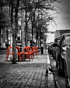 Like sitting on the streets in Venice with a cup of coffee.