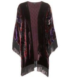 Etro - Printed silk poncho - mytheresa.com