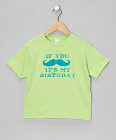 This tee's colorful print creates buzz about birthdays. Its cotton construction is cozy to wear, and the funny pun has both kids and grown-ups sharing a chuckle.