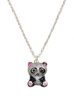 Stocking Stuffer - Glitter Panda Necklace from Justice