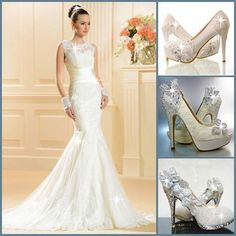 Foto: Will u wear this on your big day! Wedding-Dress>>>http://urlend.com/VVZNjar  Wedding-Shoes 1>>>http://urlend.com/F3Ub2aa  Wedding-Shoes 2>>>http://urlend.com/b2qyyaF  Wedding-Shoes 3>>>http://urlend.com/A3Ifmaf