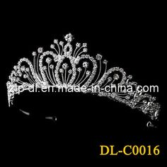 wedding tiaras | Hollywood Glamour Crown / Wedding Crown / Bride Tiara / Bride Wear (DL ...