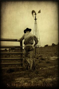Cowboy Fine Art Photography Print Texas Western Rustic Home Decor via Etsy
