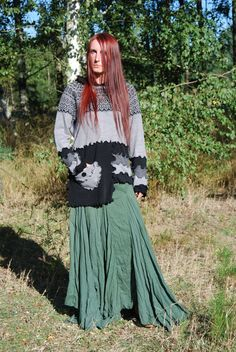Fairy Pixie Elven Hoodie Sweater Bohemian Hippie by MariArtFelting