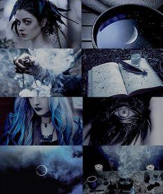 Dark witch aesthetic Ravenclaw part 1 Witch Aesthetic, Aesthetic Collage, Character Aesthetic, Blue Aesthetic, Ravenclaw, Wallpaper Collage, Foto Fantasy, Dark Witch, Mystique