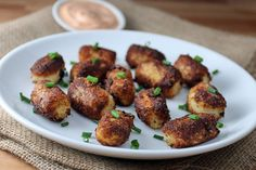 You'll end up with miniature sized, golden brown bites of deliciousness that will go with just about every meal. Serve them up with fry sauce, and dip away!