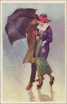 umbrellas.quenalbertini: Rain