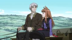 Spice and Wolf episode 1 Lawrence and Holo