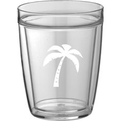 Delicieux Share Drinks With Friends On The Back Patio With This Insulated Tumbler,  Featuring A Palm Tree Print.Product: Set Of 4 Tumblers