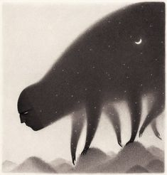 Illustrator David Álvarez is fascinated by working with shadows and light, finding black and white drawings to be one of his favorite ways to solve the images… Illustration Nocturne, Dream Illustration, Black And White Drawing, Black And White Illustration, Monochromatic Drawing, Scary Woods, Angst Im Dunkeln, David Alvarez, Arte Black