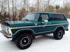 1979 ford bronco xlt Maintenance/restoration of old/vintage vehicles: the material for new cogs/casters/gears/pads could be cast polyamide which I (Cast polyamide) can produce. My contact: tatjana.alic14@gmail.com