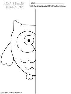 Symmetry for Kids Worksheets. 20 Symmetry for Kids Worksheets. Symmetry Worksheets, Symmetry Activities, Art Worksheets, Worksheets For Kids, Printable Worksheets, Art Activities, Coloring Worksheets, Kindergarten Drawing, Kindergarten Colors