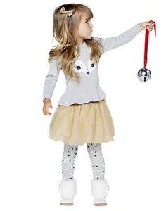 """Tutu Time"" toddler girl outfit"