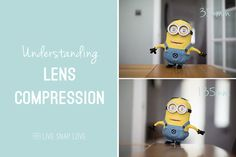 Do you understand the affect different lenses have on your background? Lens compression can add a whole different look to an image - this post has plenty of examples of lens compression and the affect it has on your photos!