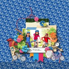 CT Layout made using Memory Mosaic's Scrap Your Stories (Childhood). Scrapbooking Layouts, Digital Scrapbooking, Confirmation Page, Paint Shop, Photoshop Elements, Your Story, Paper Goods, Photo Book