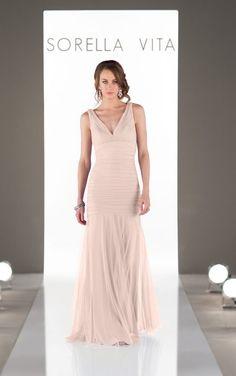 Tulle bridesmaid dress
