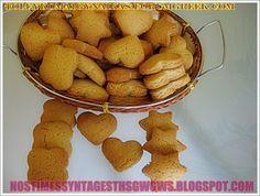 ΚΟΥΛΟΥΡΑΚΙΑ ΜΕ ΙΝΔΙΚΗ ΚΑΡΥΔΑ ΝΗΣΤΙΣΙΜΑ!!! | Νόστιμες Συνταγές της Γωγώς Sweet Recipes, Vegan Recipes, Snack Recipes, Greek Cooking, Biscuit Cookies, Cookie Recipes, Biscuits, Brunch, Food And Drink