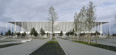Why Can't American Sports Stadiums Be Beautiful Like the Nouveau Stade de Bordeaux in France? - CityLab