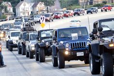 Bantam Jeep Heritage Festival Announces Plans for Guinness World Records Largest Parade of Jeeps at 2015 Event Sci Fi Novels, Jeep Wrangler Tj, World Records, Jeep Life, Monster Trucks, Jeeps, Guinness, Xe Jeep, Butler
