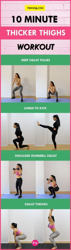 how to get thicker thighs and hips fast