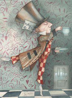 Alicia Wonderland, Alice In Wonderland Steampunk, Alice And Wonderland Quotes, Alice In Wonderland Illustrations, Alice Liddell, Spice Labels, Alice Madness Returns, Marionette, Decoupage