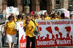 July 1, 2010: After six years of organizing by domestic workers, the New York state legislature passes the Domestic Workers Bill of Rights, providing them with labor protections such as vacation and overtime pay, protection from discrimination and harassment, and inclusion of part-time workers in disability laws.