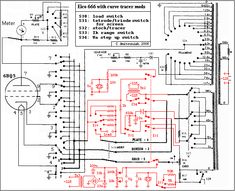 Tube tester - schematic