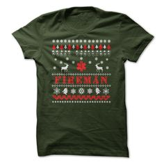 Fireman Christmas! T-Shirts, Hoodies, Sweaters