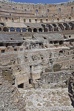 Coliseum Interior - Download From Over 35 Million High Quality Stock Photos, Images, Vectors. Sign up for FREE today. Image: 58990486