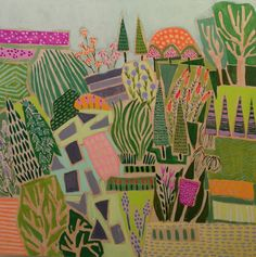 The English Room Blog / Loving Lulie Wallace's Landscapes
