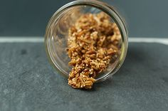 coconut quinoa granola spill by Marisa | Food in Jars, via Flickr