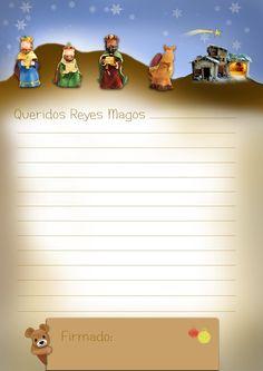 escriban una carta a los Queridos Reyes Magos Christmas Paper, Christmas Goodies, Christmas Time, Holiday, Paper Decorations, Christmas Decorations, Envelope Lettering, Kings Day, Spanish Culture