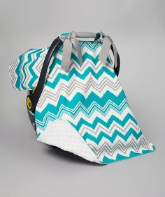 Look at this #zulilyfind! Zazzle Pacific Minky Infant Car Seat Cover by Caught Ya Lookin' #zulilyfinds $34.99