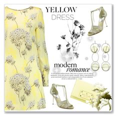 """In La La Land: Yellow Dresses"" by andrejae ❤ liked on Polyvore featuring Goat, MICHAEL Michael Kors, Marni, Kate Spade, yellowdress, polyvoreeditorial and polyvorecontest"