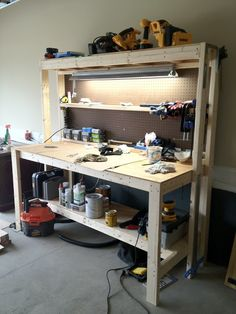 Ginger & The Huth: DIY Work Bench