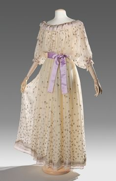 Zandra Rhodes evening dress ca. 1983 via The Costume Institute of the Metropolitan Museum of Art