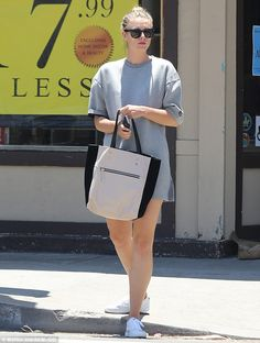 Retail therapy: Maria Sharapova appeared to be attempting to take her mind off her woes as she headed out on a low-key shopping trip in Venice Beach, California, on Sunday