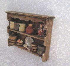Miniature Tudor Shelf