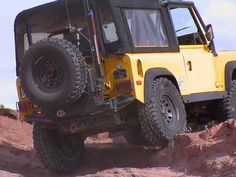 tyre carrier Land Rover Overland, Land Rover 88, Monster Trucks, Vehicles, Car, Vehicle, Tools