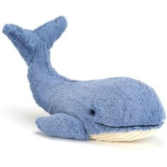 Jellycat Wowser Wilber Whale | Cow & Lizard toy store