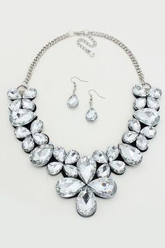 Crystal Dulce Statement Necklace