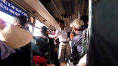 Giang hồ cướp tiền, hành hung khách trên xe buýt