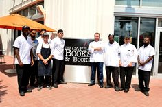 The talented staff at The Café at Books & Books, Arsht Center #CafeBBArsht