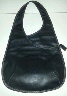 Coach Collectors RARE Black Leather Bonnie Cashin Body Bag 9074 Recreated