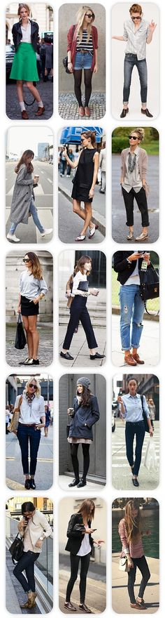 Oxford shoes inspiration looks