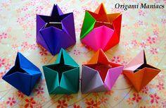 Origami Maniacs: Origami Star Prism