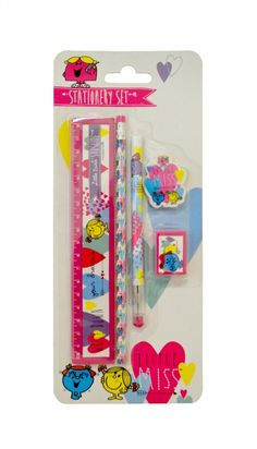 Little Miss Stationery Set